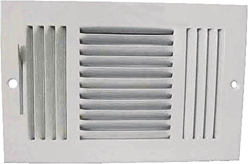 Mintcraft Air - Register Sidewall 3wy 10x6 Wht by Mintcraft