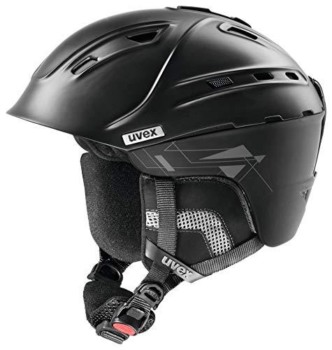- Uvex Plus Two Ski Helmet, Black, Large/X-Large