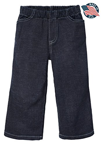 City Threads Boys' and Girls' Jeans Pull-Up Pants for Sch...
