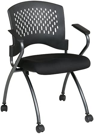 Pro-Line Ii Folding Deluxe Folding Chair W/ Ventilated Plastic Wrap Around Back Arms