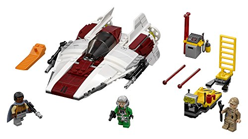 LEGO Star Wars A-Wing Starfighter 75175 Building Kit (358 Piece), Multi