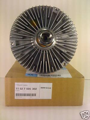 (Genuine BMW E34 E36 E38 E39 E46 Radiator Cooling Fan Coupling OEM 11527505302)