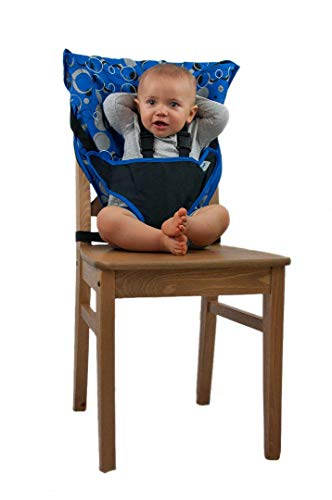 Cozy Cover Easy Seat Portable High Chair (Blue) ()