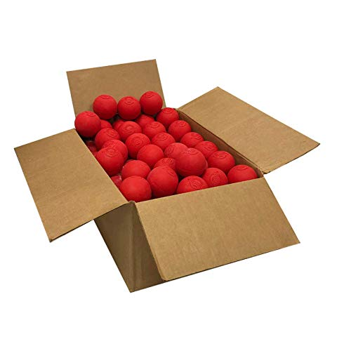 Velocity Lacrosse Balls: 60 Balls - Red