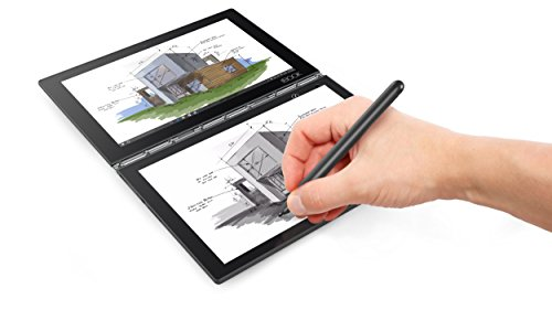 "Lenovo Yoga Book- FHD 10.1"" Android Tablet - 2 in 1 Tablet (Intel Atom x5-Z8550 Processor, 4GB RAM, 64GB SSD),Carbon Black, ZA0V0224US"