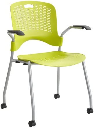 Safco Products Sassy Plastic Stackable Rolling Chair