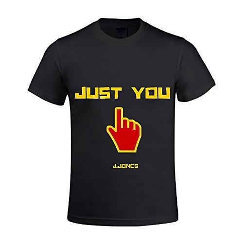 Just You J-Jones Men Crew Neck T Shirts For Boys (Halloween Brevard County Fl)
