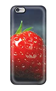 For Strawberry On An Dark Protective Case Cover Skin/iphone 6 Plus Case Cover 1236409K47545342