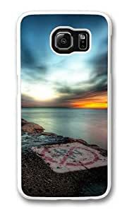 Hdr Sunset Custom Samsung Galaxy S6/Samsung S6 Case Cover Polycarbonate White