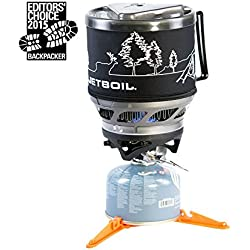 Jetboil MiniMo Personal Cooking System - Carbon w/ Line Art
