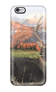 Faddish Phone Deer Resting In The Grass Case For Iphone 6 Plus / Perfect Case Cover