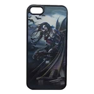 3D Effect Bat Girl Patterned Back Guard Case Cover for Apple iPhone 5