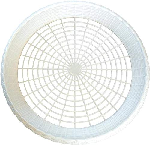 - 8 NEW WHITE PLASTIC PAPER PLATE HOLDERS, PICNIC, BBQ by Picnic Ware