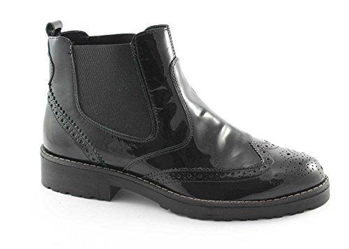 IGI&Co 48350 Schwarze Schuhe Frau Stiefeletten Elastischen Beatles Nero