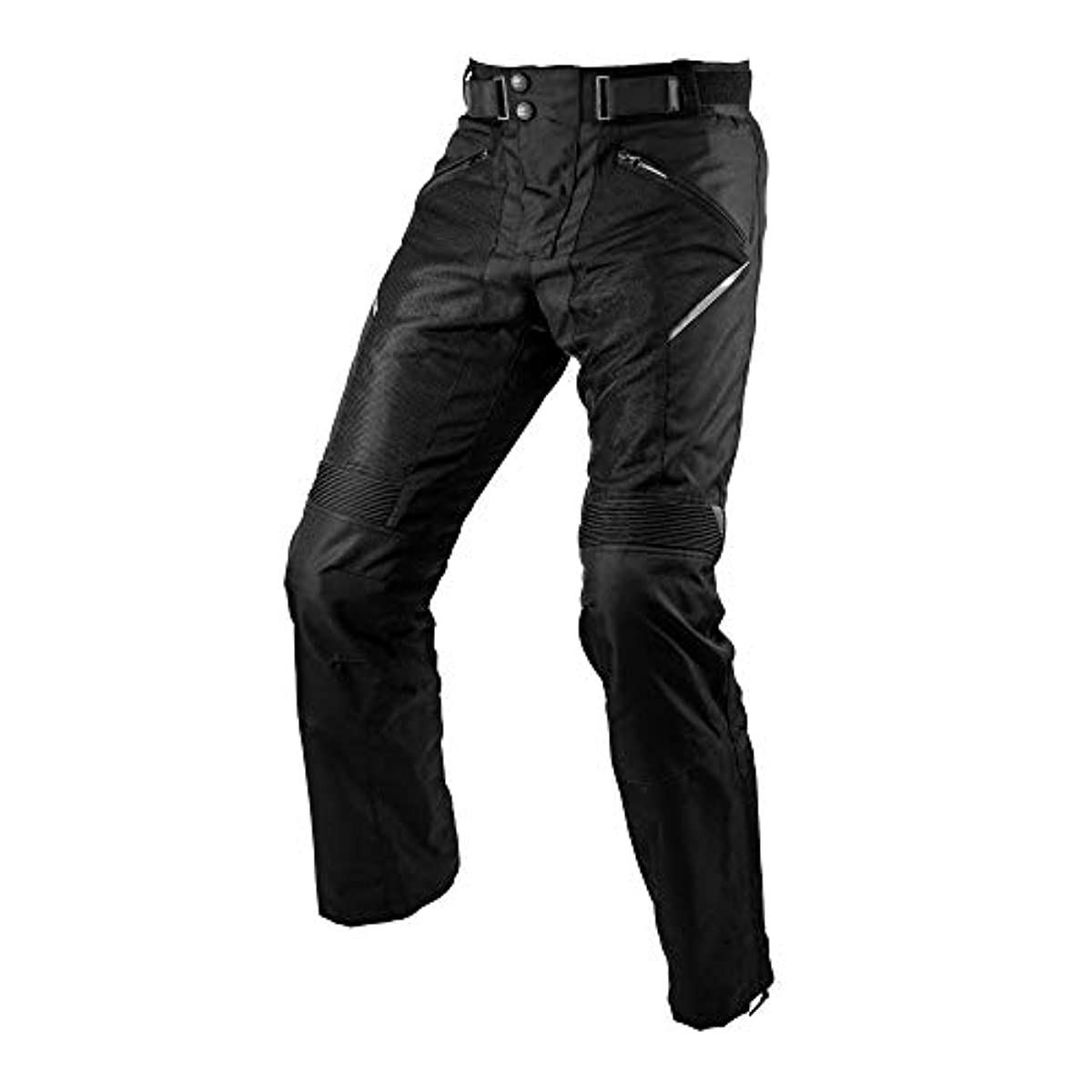 [해외] 코미네(KOMINE) 오토바이용 라이딩 팬츠 프로텍트 메쉬 팬츠 BLACK L PK-743 07-743