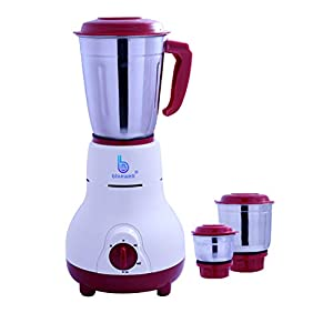 bluewell Mixer Grinder 750watt 3jar with 1 year warranty
