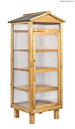 Weidenprofi Gewachshaus Aus Holz 60 X 60 X 170 Cm Balkon Amazon