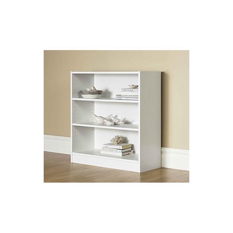 Mainstay.. 3-Shelf Bookcase - Wide Books