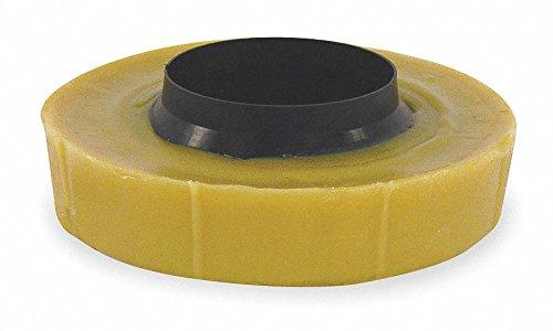 WM Harvey 001115-24 Wax Toilet Bowl Gasket With Polyethylene Flange Wax Gasket