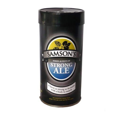 Samsons Strong Ale Beer Kit Homebrew Bigger Jugs