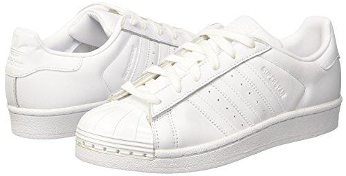Blanc Toe Basses Superstar footwear Baskets White White 80s core Femme Adidas Black Metal footwear q08txX