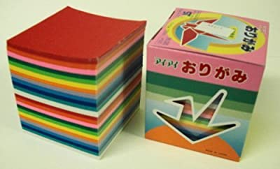 Origami Paper, 1000 sheets, 2 3/4 inches square ( 7 by 7 cm, or about 2 3/4 inches by 2 3/4 inches )
