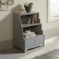 Sauder Eden Rue Accent Bookcase, Gray Finish