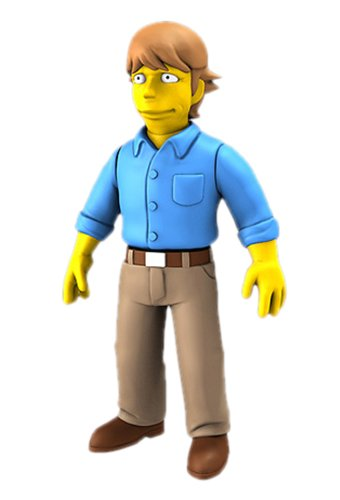 NECA Simpsons 25th Anniversary - Mark Hamill 5
