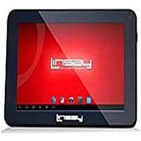 Linsay Cosmos F-7HD2CORE Tablet PC -7-inch - Cortex A9 1.3 GHz Dual-Core Processor - 512 MB - 4 GB HDD - Android 4.2 Jelly Bean - Wi-Fi - Black consumer electronics