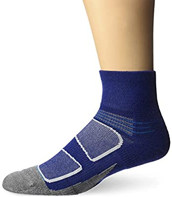 Feetures! Men's Elite Merino+ Cushion Quarter