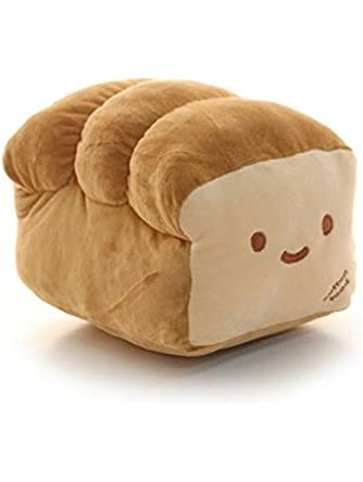 Bread 6, 10, 15 Plush Pillow Cushion Doll Toy Gift Home Bed Room Interior Decoration Girl Child Gift Cute Kawaii by Cupid Gift Shop 10