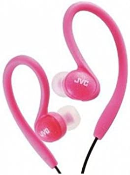 JVC HAEBX85P Inner Ear Sports Clip Headphone Pink Discontinued by Manufacturer