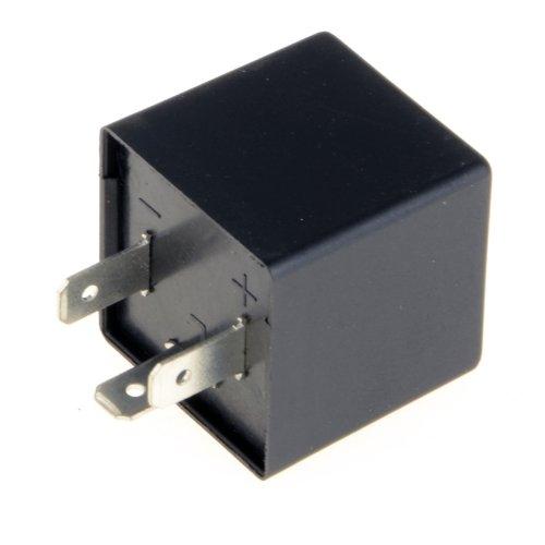 clignotant Relais clignotant LED 12 V 3 broches de fr/équence r/églable pour moto clignotant