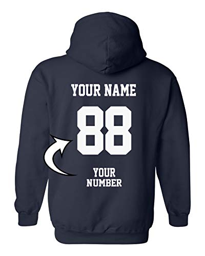 Zipper Custom - Design Your OWN Hoodie - Custom Jersey Hoodies - Pullover Team Sweatshirts
