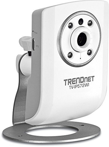 - TRENDnet Megapixel Wireless N Network Surveillance Camera with 2-Way Audio and Night Vision, TV-IP572WI (White)