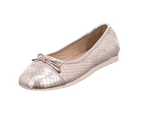 Grey Silber Gold 923 Bronce donna Ballerine 1 Julia 6wdxqY6