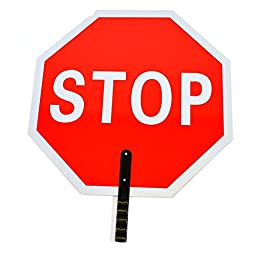 RK STSL18 Stop/Slow Paddle Sign, 18\