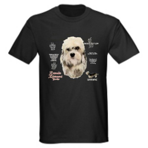 Dandie Dinmont Terrier T-Shirt - History Terrier T-shirt