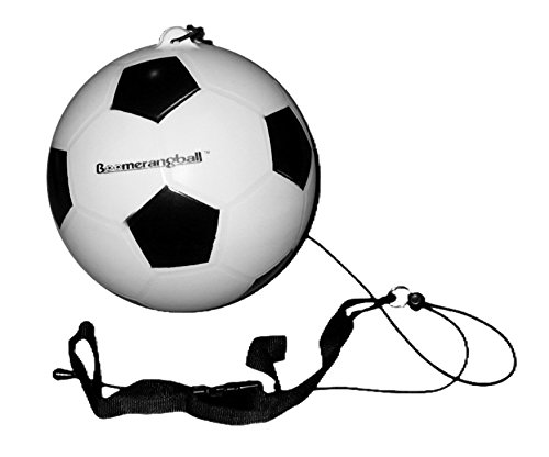 Boomerang Practice Soccer Ball - For Men Woman and Kids - Best Toy for Outdoor Sport - Indoor Sports - Training Soccer Balls for All Ages