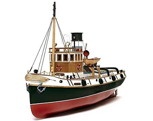 Scale Model Tugs - Occre 61001 Ulysess Tugboat 1:30 Scale Model Kit