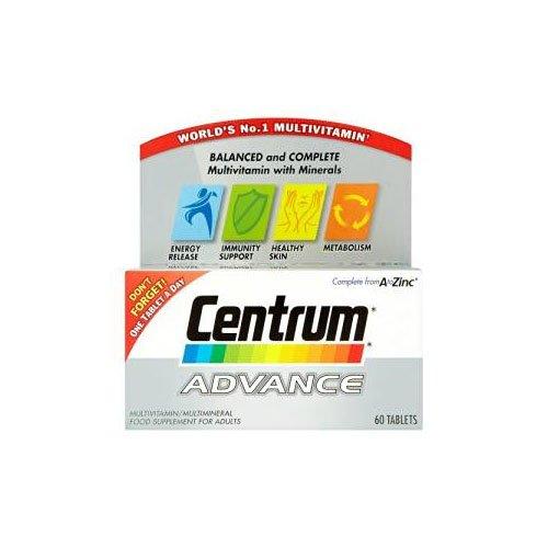Centrum Advanced Multivitamins - 60 Tablets