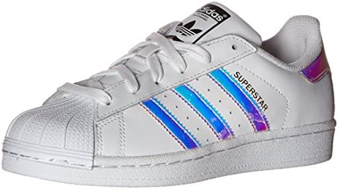 adidas Originals Superstar J WhiteWhiteMetallic Silver