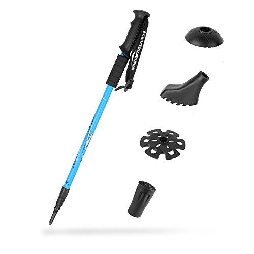 Aluminum Adjustable Hiking Stick - 3