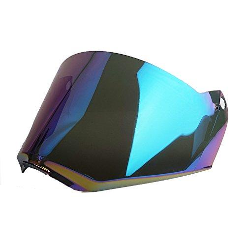 LS2 Pioneer MX436 Motorcycle Helmet Visor Shield (Rainbow) (Rainbow Visor)