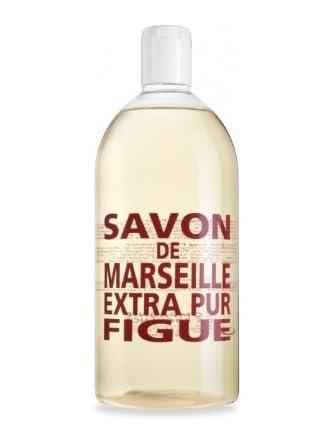 Compagnie de ProvenceMarseille Soap Refill 33.8 oz Plastic Bottle Fig of Provence