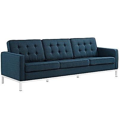 LexMod Loft Fabric Sofa