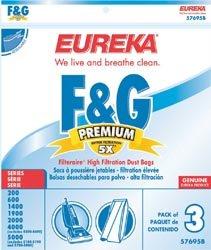 Eureka Vacuum Bag Style F, Style G Pack / 3