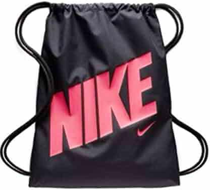 NIKE Equality Drawstring Gymsack Backpack Sport Bookbag (Industrial  Blue Tidal Blue Sea Green 39d80102bf