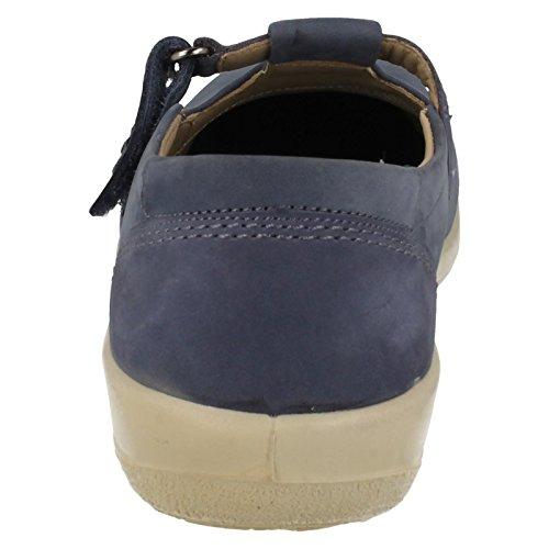 Blau Schuhe Padders Solo Fitting Damen Dual PXFnZ