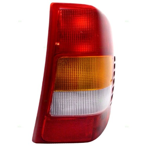 99-02 Jeep Grand Cherokee Tail Lamp Assy Rh;Thru 11/01 W/Circuit Board W/Bulbs-Sockets (Rh Light Circuit Board Tail)